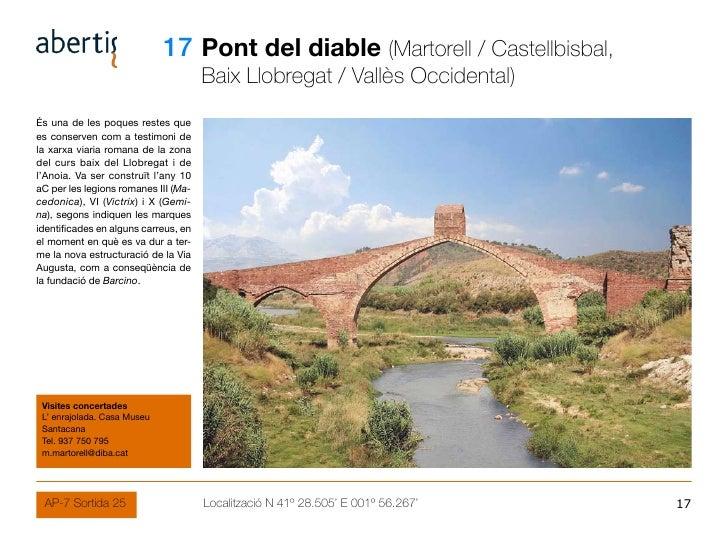 17 Pont del diable (Martorell / Castellbisbal,                                       Baix Llobregat / Vallès Occidental) É...