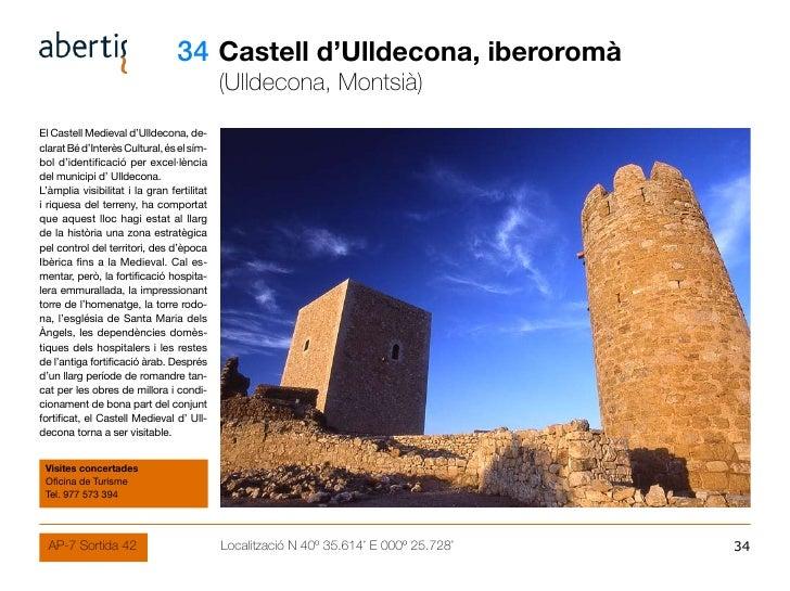 34 Castell d'Ulldecona, iberoromà                                             (Ulldecona, Montsià) El Castell Medieval d'U...