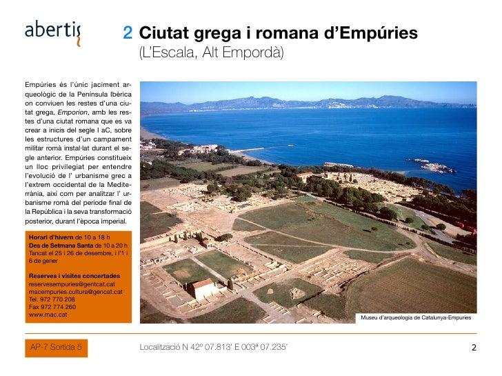 02 Ciutat grega i romana d'Empúries                                           (L'Escala, Alt Empordà) Empúries és l'únic j...