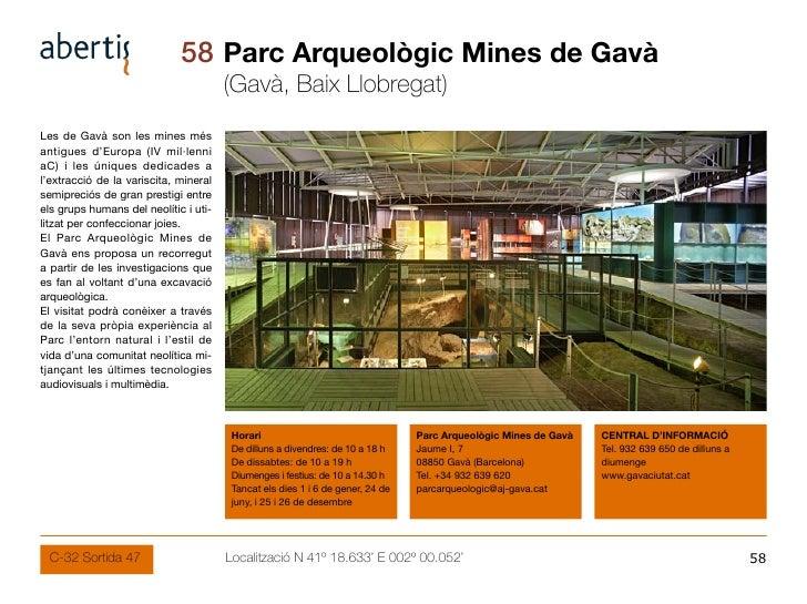 58 Parc Arqueològic Mines de Gavà                                        (Gavà, Baix Llobregat) Les de Gavà son les mines ...