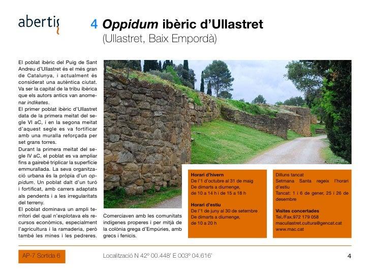 04 Oppidum ibèric d'Ullastret                                          (Ullastret, Baix Empordà) El poblat ibèric del Puig...