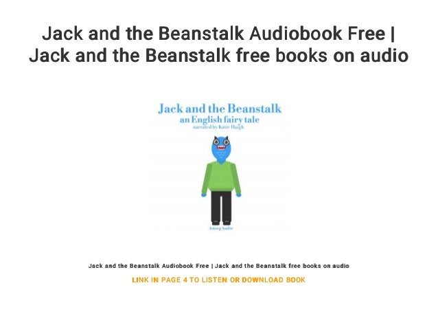 Jack And The Beanstalk Audiobook Free