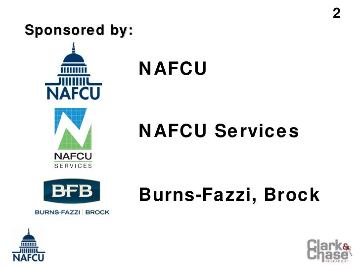 NAFCU Executive Compensation & Benefits Survey – Initial 2011 Findings (Credit Union Conference Presentation) Slide 2