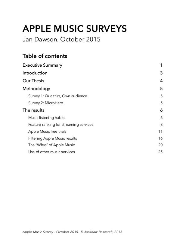 Jackdaw research music survey report Slide 3