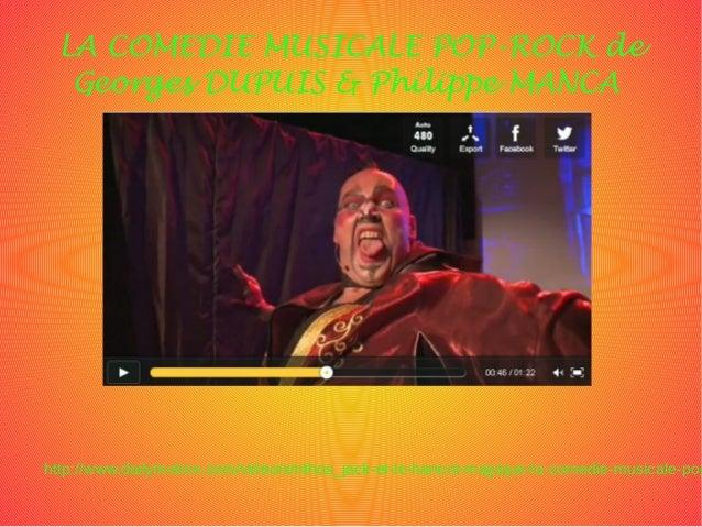 LA COMEDIE MUSICALE POP-ROCK de Georges DUPUIS & Philippe MANCA http://www.dailymotion.com/video/xmthos_jack-et-le-haricot...