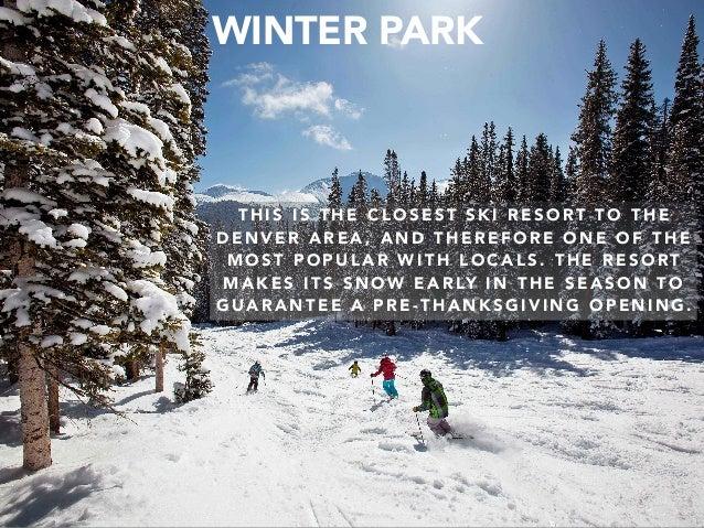 Jack D. Ryger: Best Colorado Ski Resorts Slide 2