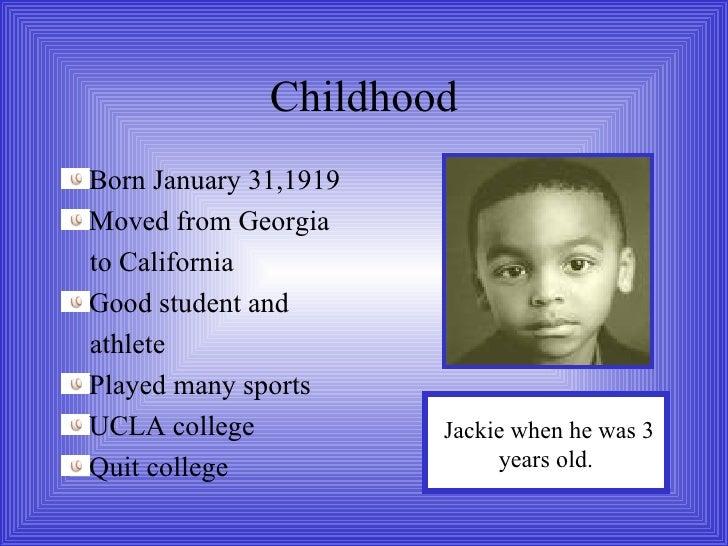 jackie robinson biography timeline