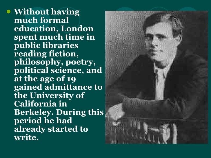 jack london a biography essay