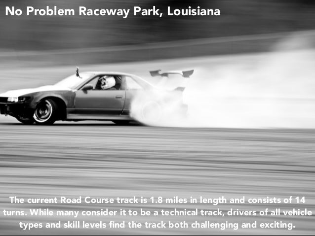 Jack D. Ryger: The Need For Speed - 7 Places to Legally Race Your Car Slide 3
