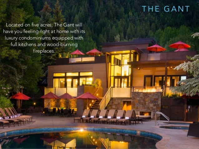 T H E G A N T Located on five acres, The Gant will have you feeling right at home with its luxury condominiums equipped wi...