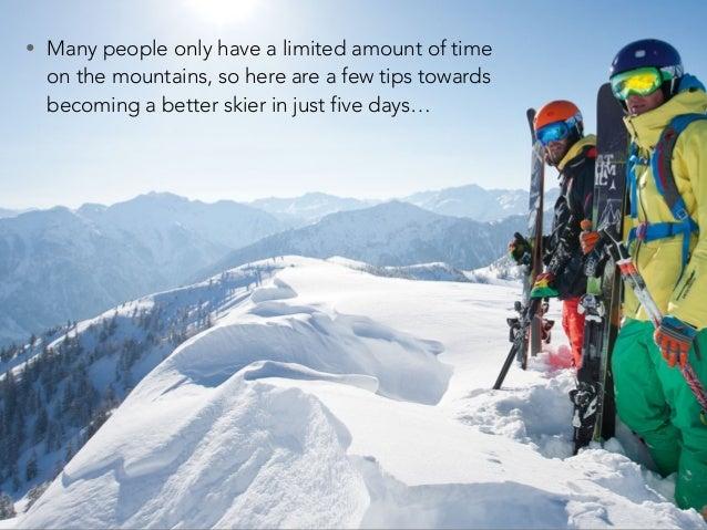 Jack Ryger: How to Become a Better Skiier Slide 3