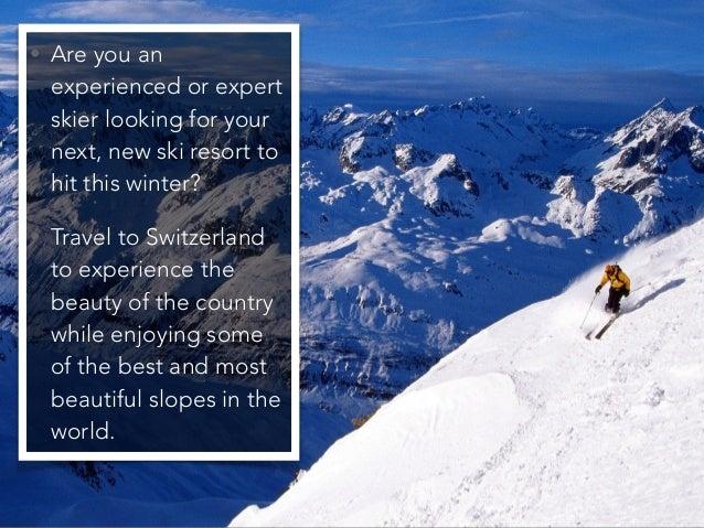 Jack Ryger: Top 5 Skiing Resorts in Switzerland Slide 2