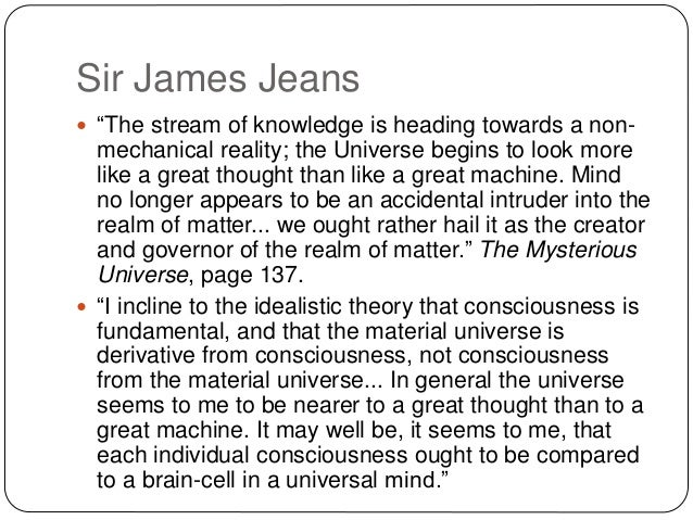 sir james jeans the mysterious universe pdf