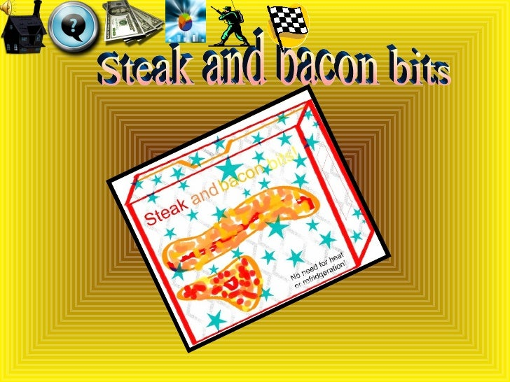 Steak and bacon bits