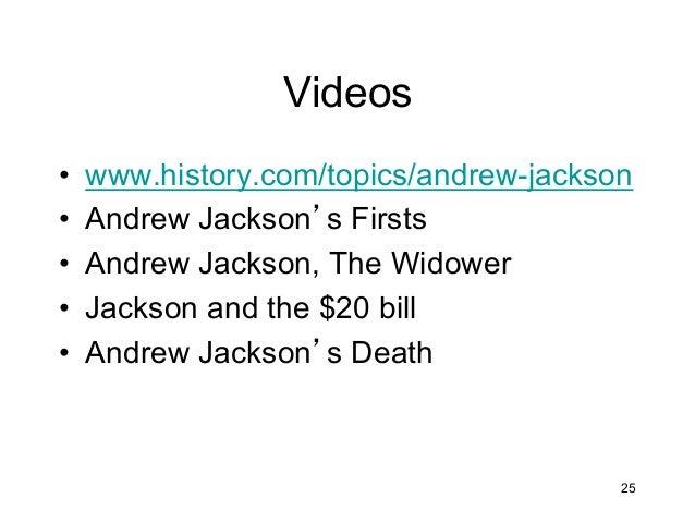 The Jackson Era – Andrew Jackson Worksheet