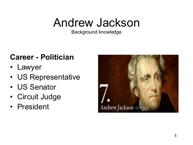 an overview of the presidency of andrew jackson in the united states