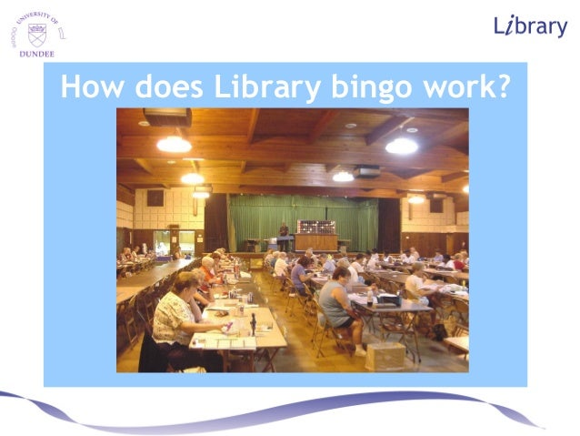 How does Library bingo work?