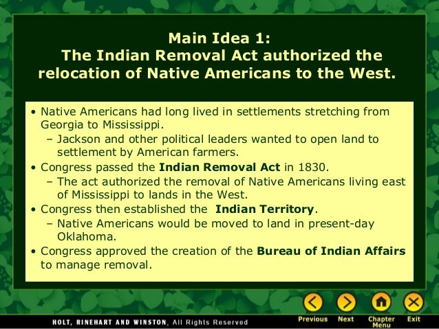 congress approves indian removal act proposed by president jackson 7 things donald trump gets absolutely wrong about andrew jackson signed a law that he had proposed — the indian removal act the right to interpose their authority over the federal government and nullify federal laws of which they did not approve jackson's confrontation with.