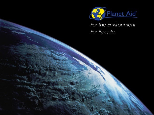 For the Environment  For People
