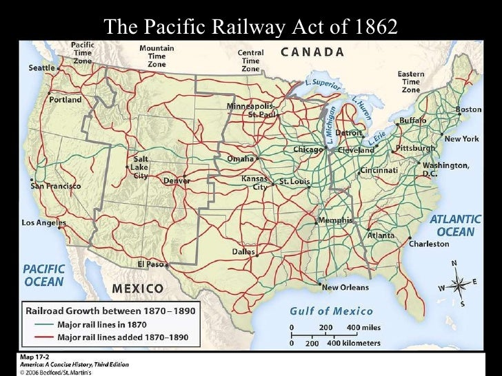 pacific railway act 1862 Pacific railway act proclamation on july 1, 1862, congress passed another act that had been stalled by sectional conflict railroad technology had improved greatly over the previous three decades.
