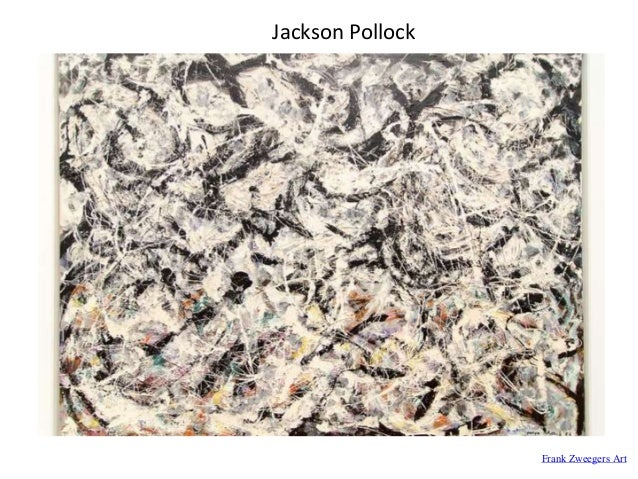 Frank Zweegers Art Jackson Pollock
