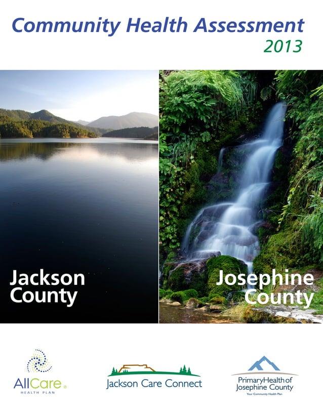 Community Health Assessment Jackson County Josephine County 2013