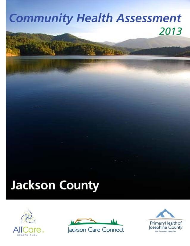 Draft Community Health Assessment Jackson County 2013