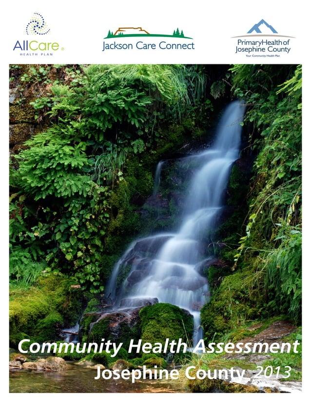 Josephine County Community Health Assessment 2013