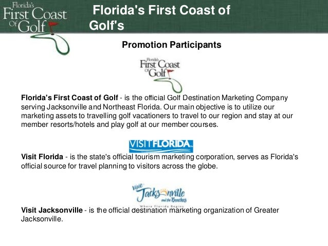 Florida's First Coast of Golf's Double-click to enter Jacksonville Jaguar Promotion Participants Promotion  title  Florida...