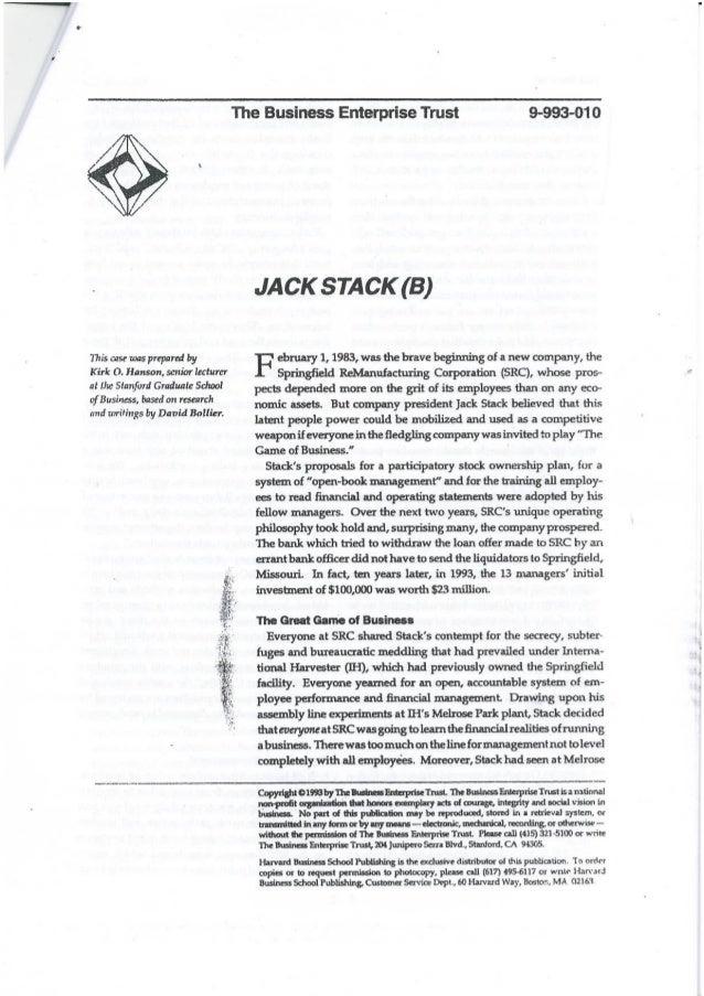 Jack stack case