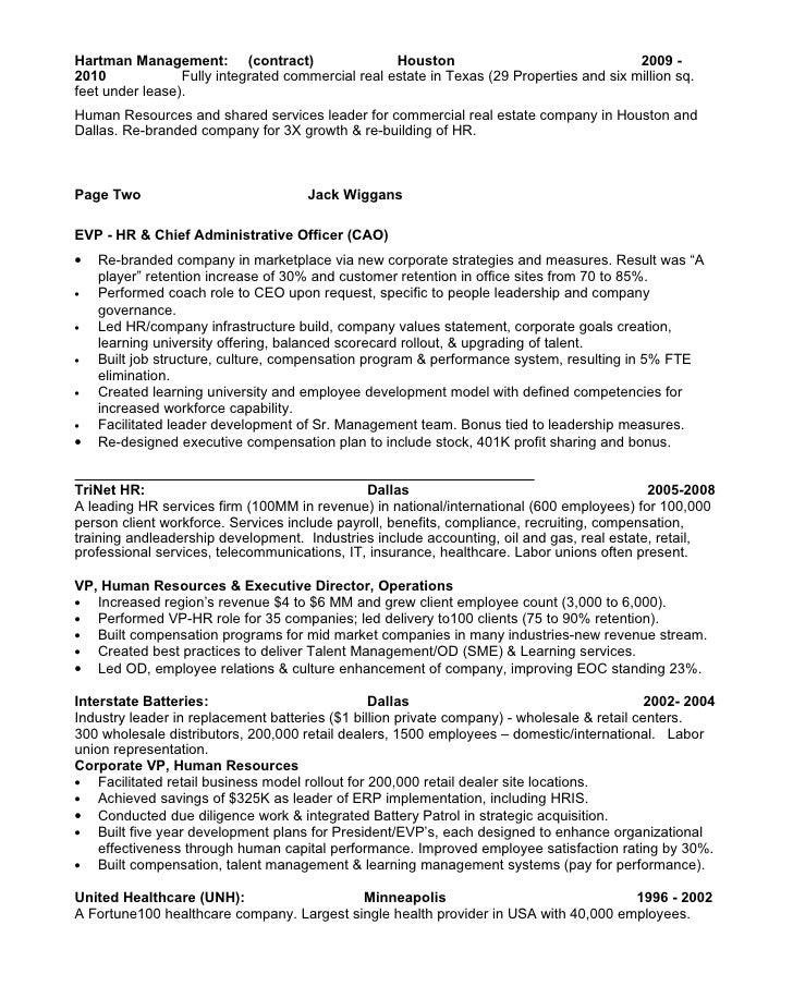 jack wiggans resume