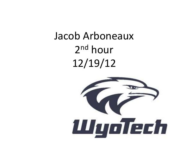 Jacob Arboneaux    2nd hour    12/19/12