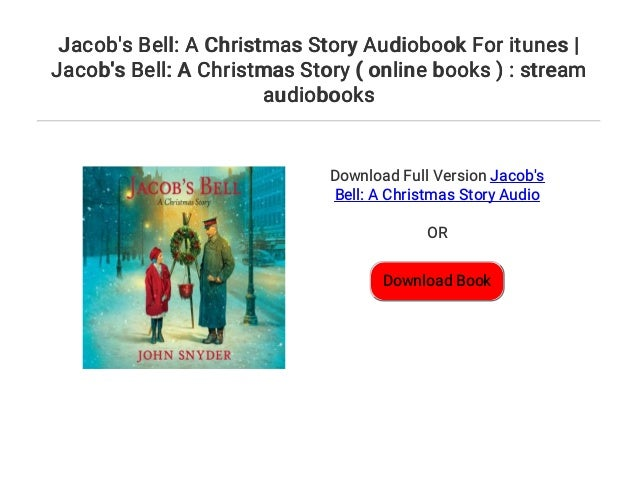 A Christmas Story Streaming.Jacob S Bell A Christmas Story Audiobook For Itunes