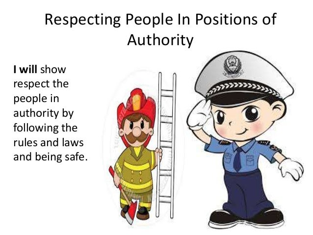 how to show respect to people