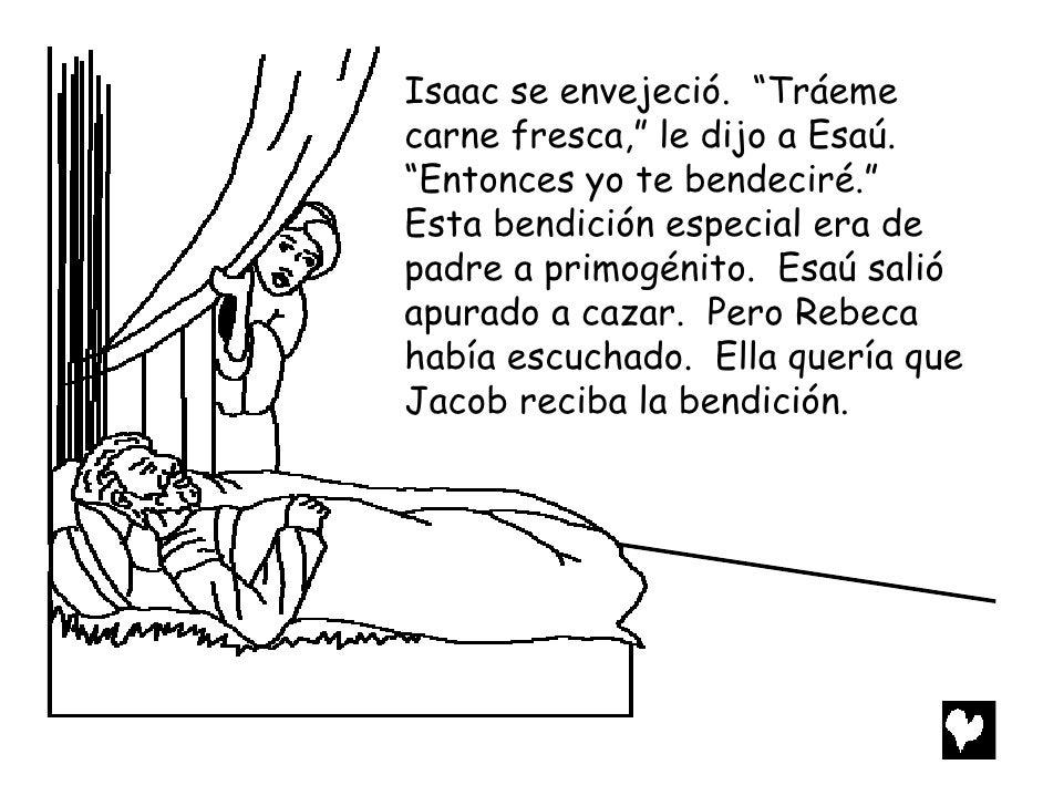 Magnífico Colorear Jacob Y Esau Molde - Dibujos Para Colorear En ...