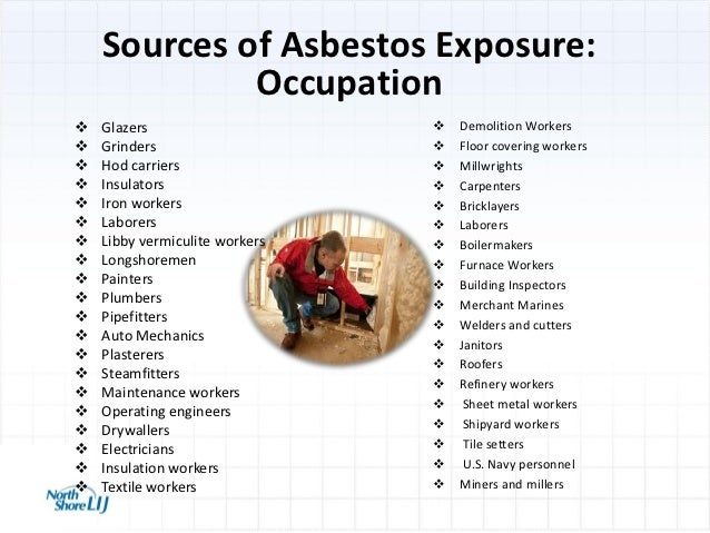 Occupational And 9 11 Exposures And Cancer Risk Mesothelioma Applie