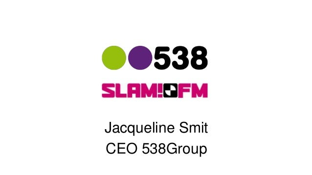 Jacqueline Smit CEO 538Group