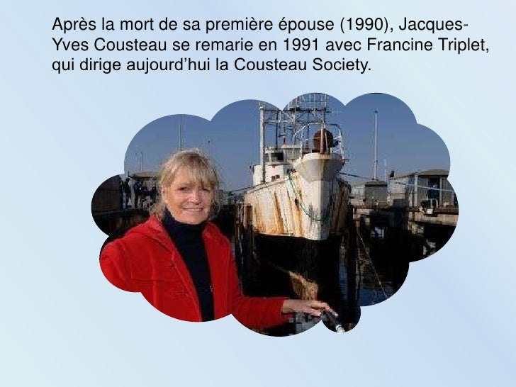 a biography of jacques yves cousteau Jacques-yves cousteau was born on june 11, 1910, in saint-andré-de-cubzac (gironde) in france he entered the naval academy in 1930, was graduated.