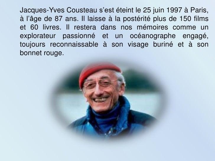 Jacques yves cousteau