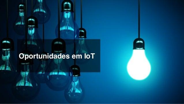 Segmentos que já compram soluções de IoT! Bancos!