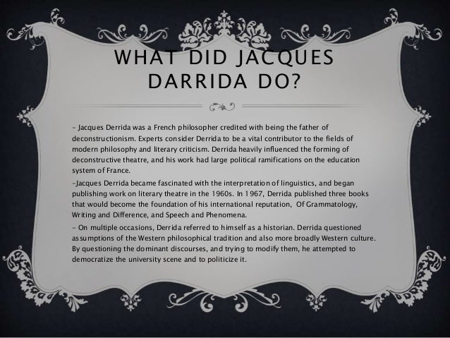 derrida writing and difference routledge publications