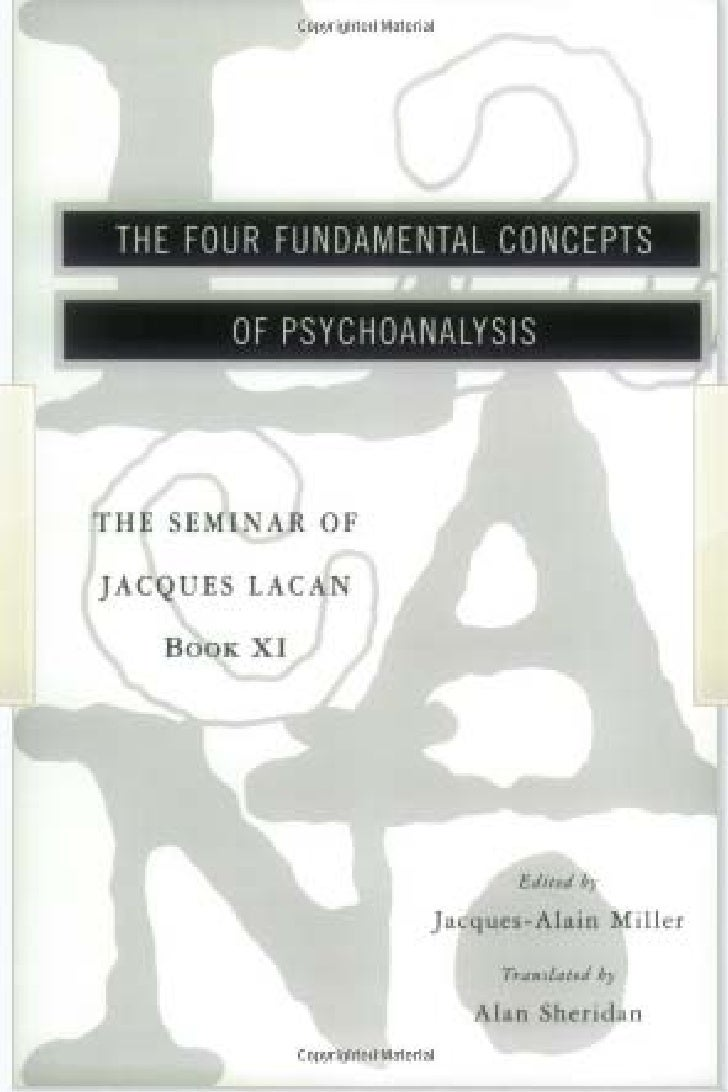 lZIj THU FOUR FUNDAMENTAL CONCEPTS        UI PSYCHOANALYSISTHE SIhIINAR OFJACQUES I ACAN    Boot Xl                       ...