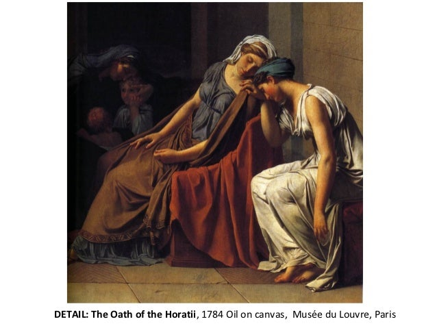 david, jacques-louisí the oath of the horatii essay Art analysis of jacques-louis david's neoclassical painting, oath of clothing such as the tunic as represented in jacques-louis david's, the oath of horatii.