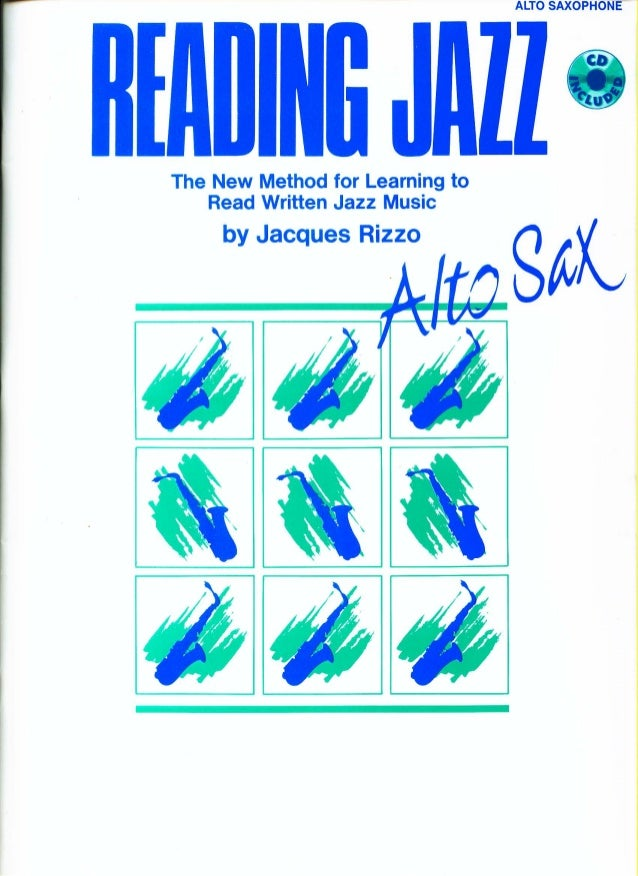Jacques rizzo learning to read written jazz music (eb)