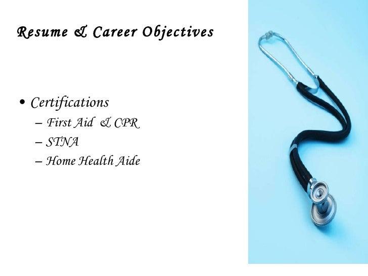 health occupational professional portfolio