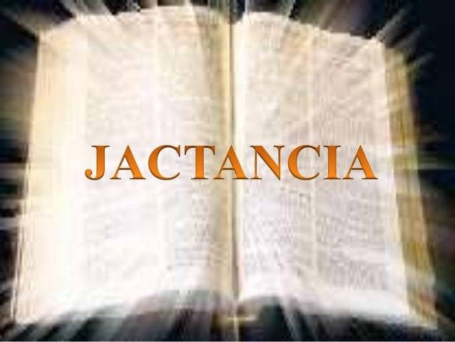 Jactancia