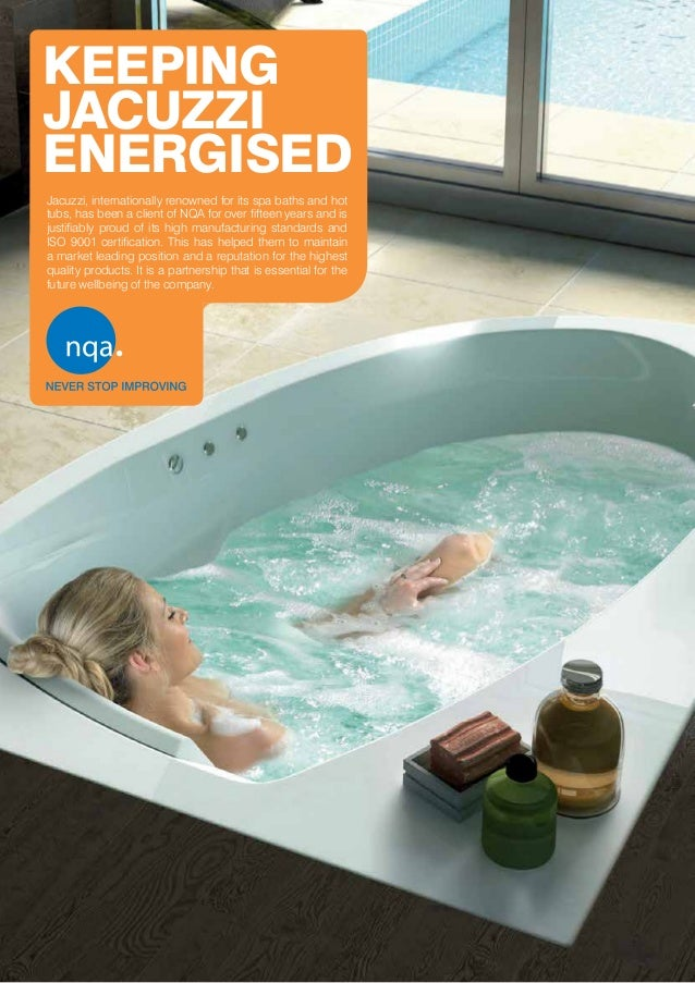 Jacuzzi Case Study - ISO 9001 (Quality Management)