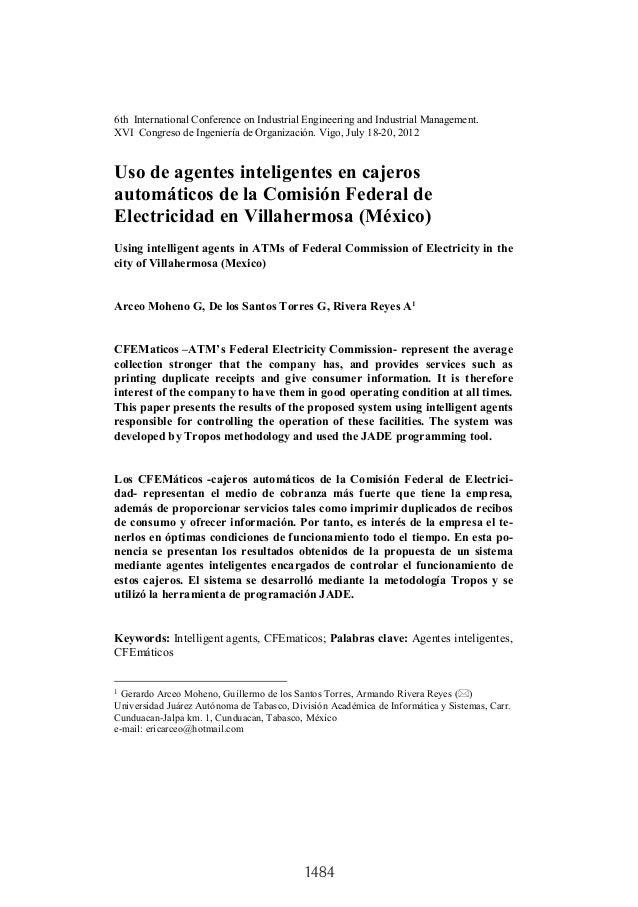 1484 6th International Conference on Industrial Engineering and Industrial Management. XVI Congreso de Ingeniería de Organ...