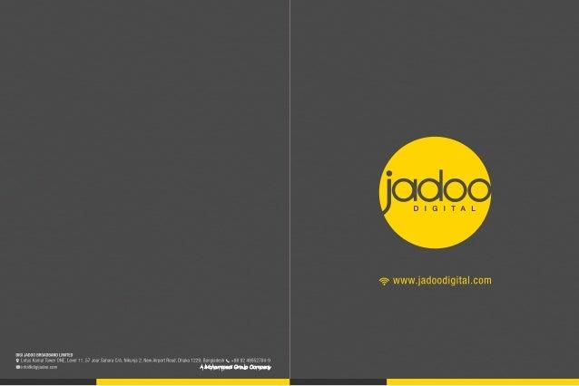 Jadoo Digital corporate brochure