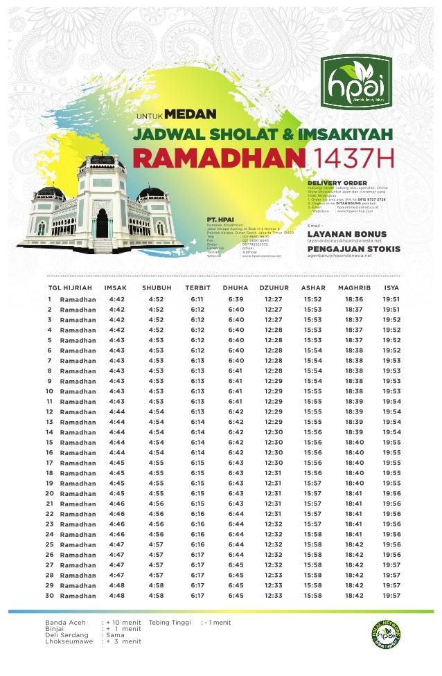 Image Result For Jadwal Imsak
